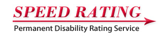 Speed Rating Permanent Disability Rating Service